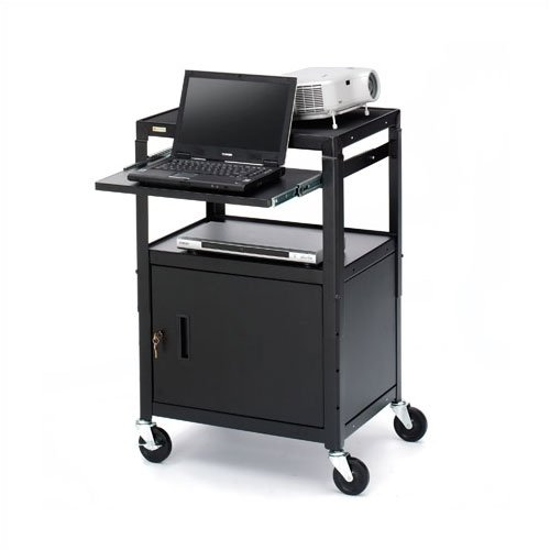 Bretford Manufacturing Inc UL Listed Adjustable Presentation AV Cart