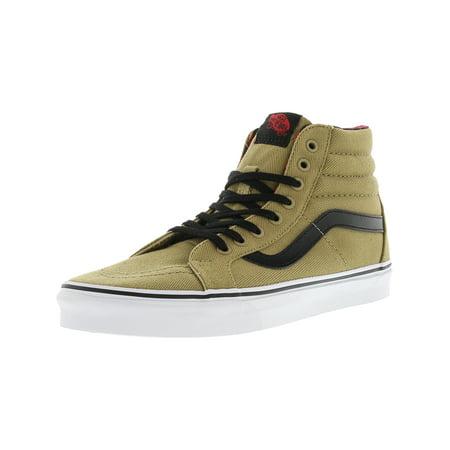7316858f18 Vans - Vans Sk8-Hi Reissue Twill And Gingham Cornstalk   Black Ankle-High  Canvas Skateboarding Shoe - 8.5M 7M - Walmart.com