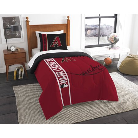 MLB Arizona Diamondbacks Printed Twin Comforter and Sham Set by
