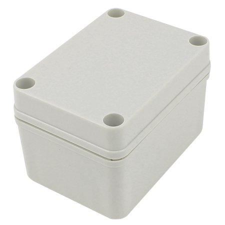 Watertight Aluminum Enclosure - Unique Bargains Watertight Junction Box DIY Terminal Connection Enclosure Adaptable 102x72x62mm