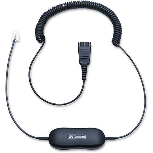 GN Netcom Direct Connect Coiled Smart Cord for Headsets