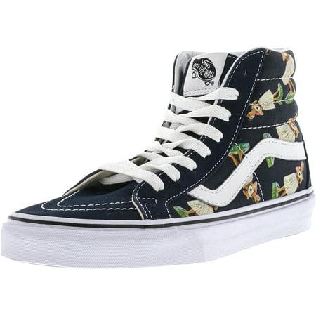 2ae20da0587efe Vans - Vans Sk8-Hi Reissue Digi Hula Parisian Night   True White Mid-Top  Canvas Fashion Sneaker - 11M 9.5M - Walmart.com