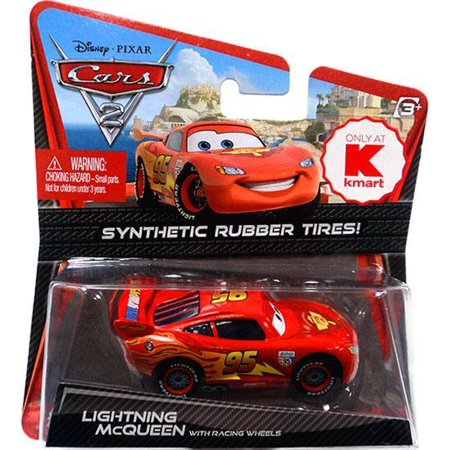 Disney Cars Synthetic Rubber Tires Lightning McQueen Diecast Car - Lightning Mcqueen 3d