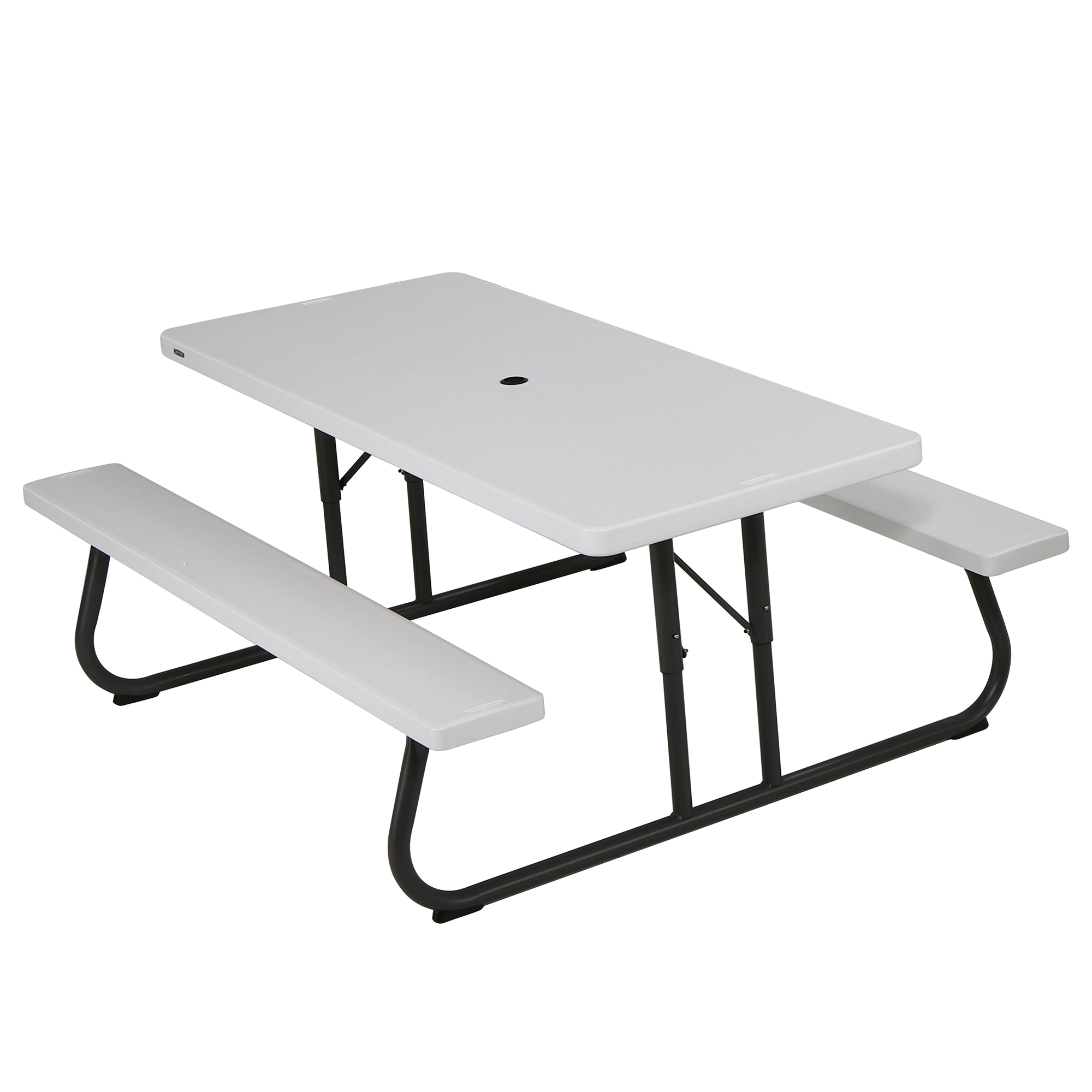 Attrayant Lifetime 6 Foot Picnic Table, White Granite, 80215