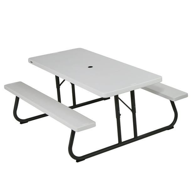 Lifetime 6 Foot Folding Picnic Table, Lifetime Round Picnic Table