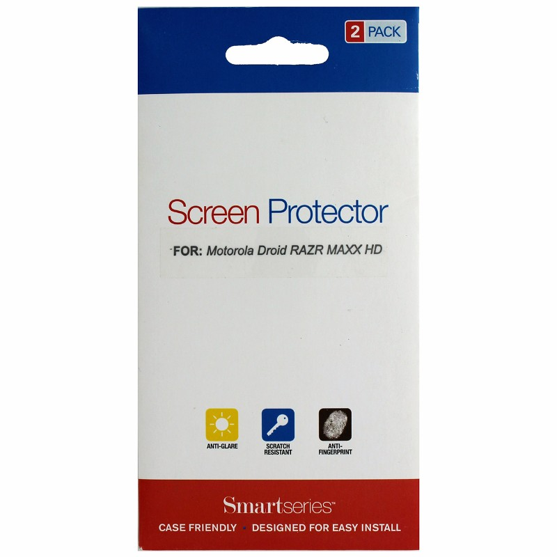 SmartSeries 2-pack Screen Protector for Motorola Razr Maxx HD