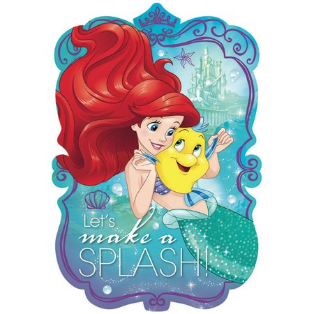 Little Mermaid Postcard Invitations (8 Pack) - Party Supplies](Superhero Party Invitations)