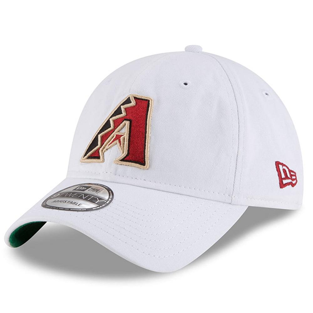 Arizona Diamondbacks New Era Classic 9TWENTY Adjustable Hat - White - OSFA