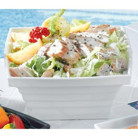 Bon Chef Americana Square Melamine Salad Bowl