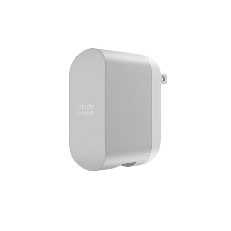Studio By Belkin 4.8 Amp Dual Wall Charger, Silver – BrickSeek