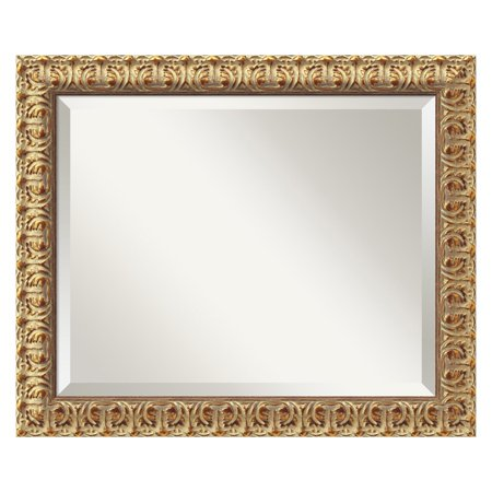 Florentine Gold Wall Mirror - 23.5W x 19.5H in.