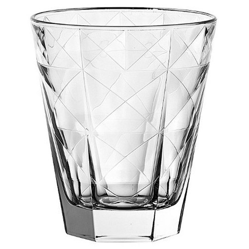 EGO Carre Double Old Fashioned Glass (Set of 6)