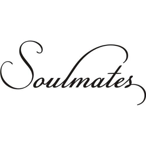 Design on Style  'Soulmates' Vinyl Wall Art Lettering Decor Mural