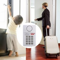 Security Keypad Door Alarm System With Panic door alarm systems Button For Home Shed Garage Caravan