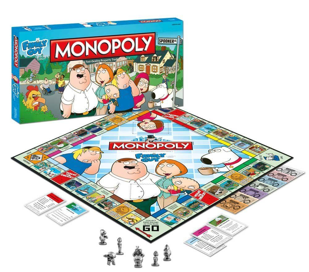 Family Guy Monopoly 2010 Collector's Edition by USAopoly