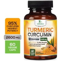 Vitamins & Supplements: Nature's Nutrition Turmeric Curcumin