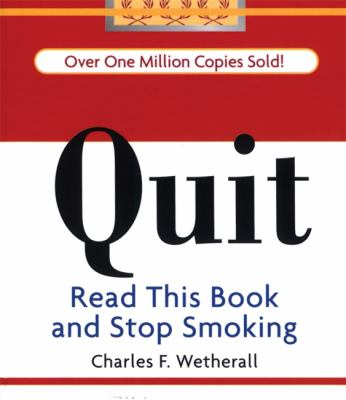quit read this book and stop smoking