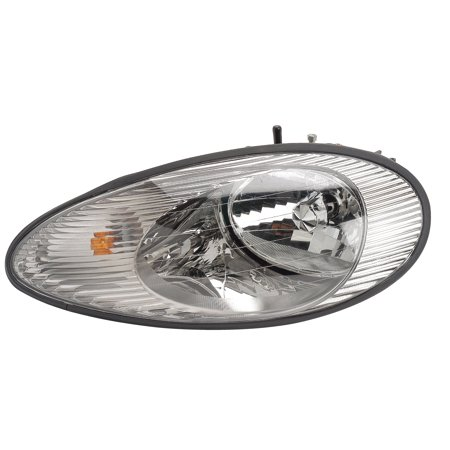 Sable Mercury Driver (1996-1999 Mercury Sable Driver Left Side Headlight Lamp Assembly)