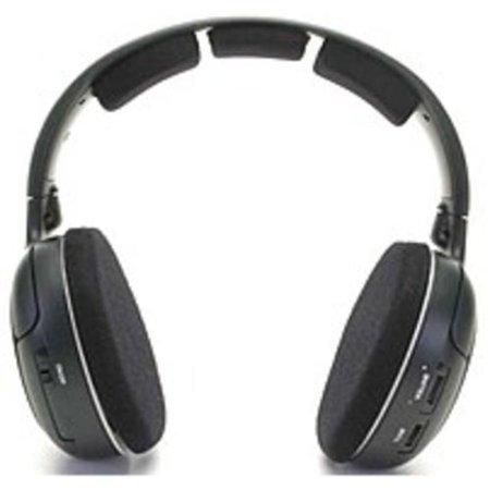 Sennheiser RS120 On-Ear Wireless RF Headphones with Charging