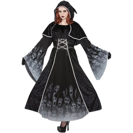 Forgotten Souls Women's Plus Size Adult Halloween Costume, One Size, 16-22