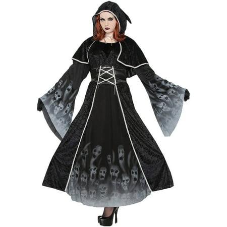 Forgotten Souls Women's Plus Size Adult Halloween Costume, One Size, 16-22