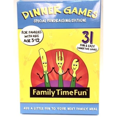 Family Time Fun Dinner Games - 31 Fun & Easy Dinner Games Play with (Games To Play At The Thanksgiving Dinner Table)