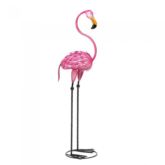 Summerfield Terrace TROPICAL TANGO FLAMINGO STATUE