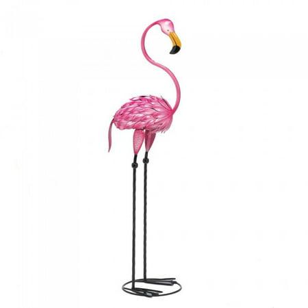 Summerfield Terrace TROPICAL TANGO FLAMINGO STATUE](Flamingo Outdoor Decor)