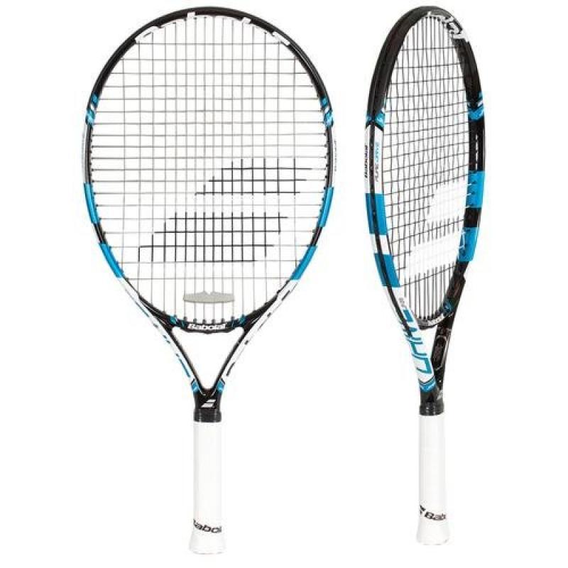 BABOLAT Pure Drive 23 Junior Tennis Racquet, Black/Blue