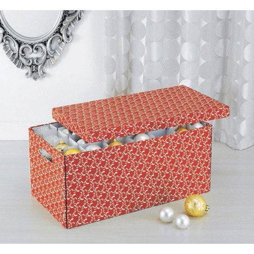 OIA Red Christmas Storage Box