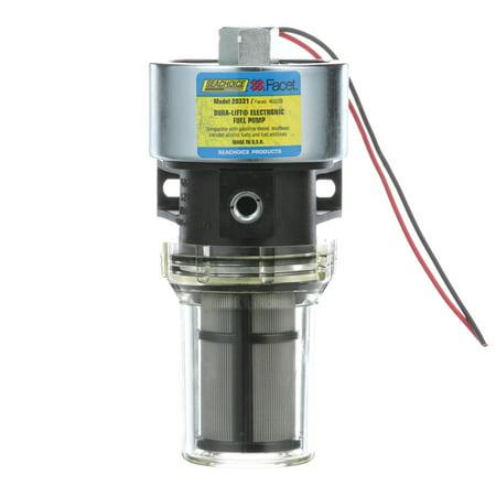 Seachoice 20331 12V Dura-Lift Electronic Fuel Pump, 11.5-9 PSI, 33 GPH