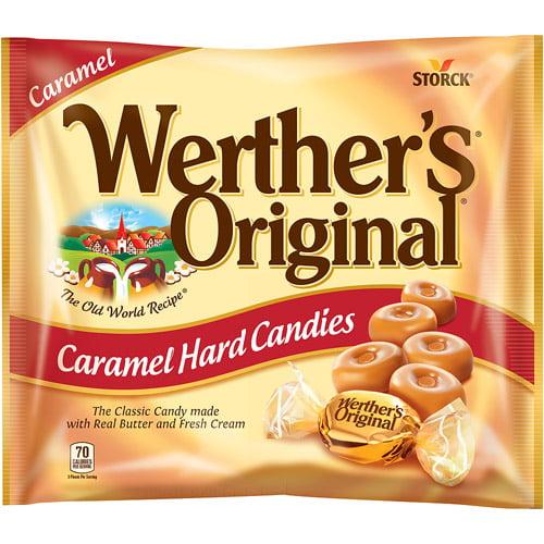 Werther's Original, Butter & Cream Hard Candies, 9 Oz