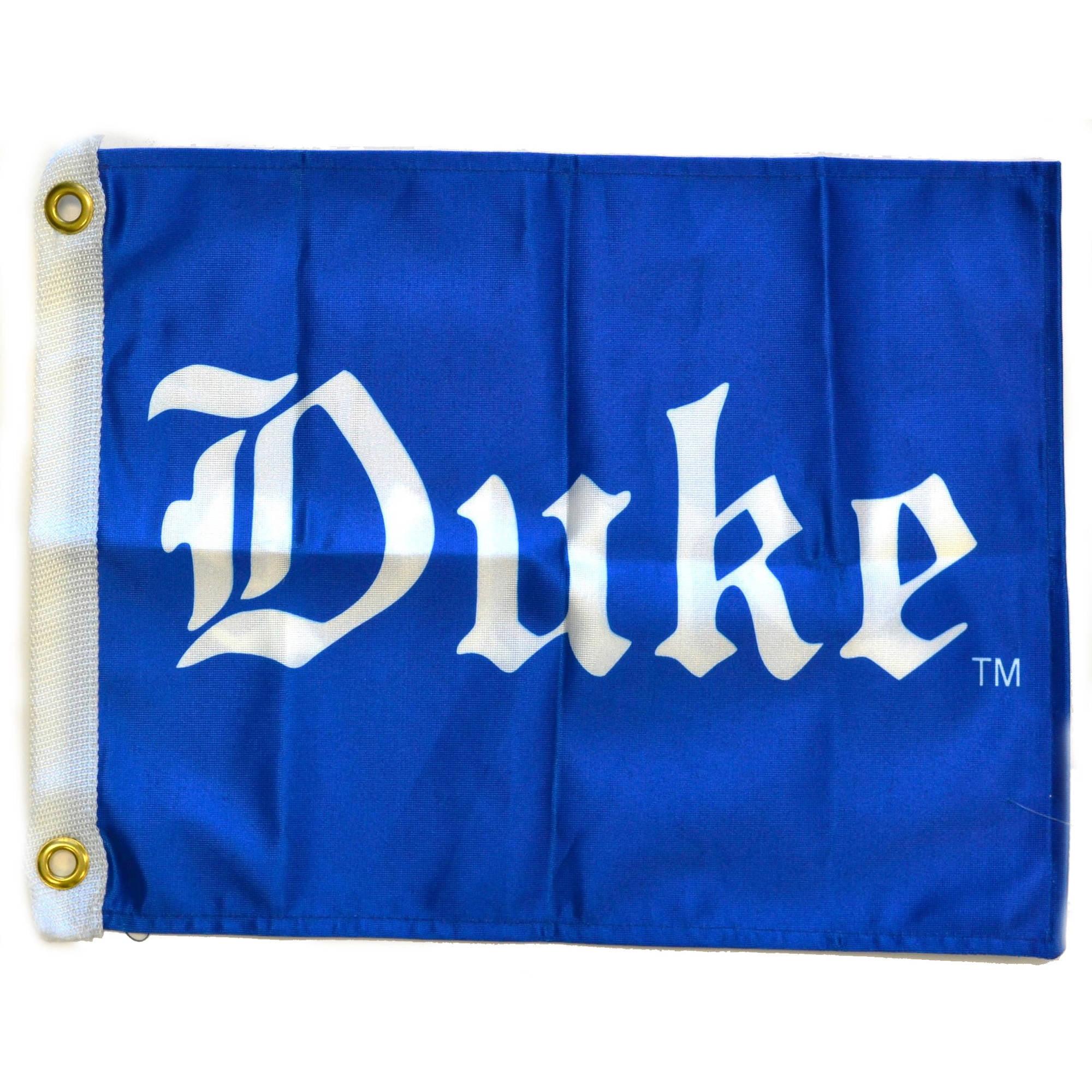 """Flagpole To Go 14"""" x 15"""" Duke Golf Cart Flag"""