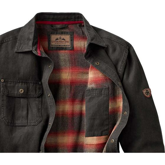 Legendary Whitetails Men S Journeyman Rugged Shirt Jacket