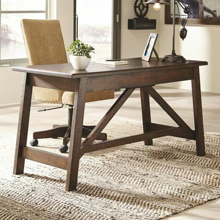 Signature Design by Ashley Baldridge 60 in. Home Office Large Leg Writing/Laptop Desk