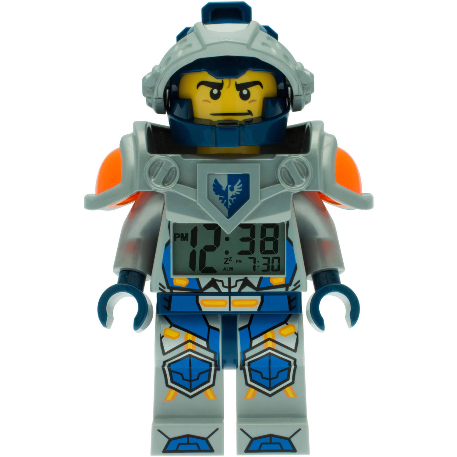 LEGO Clay Light-Up Minifigure Nexo Knights Alarm Clock