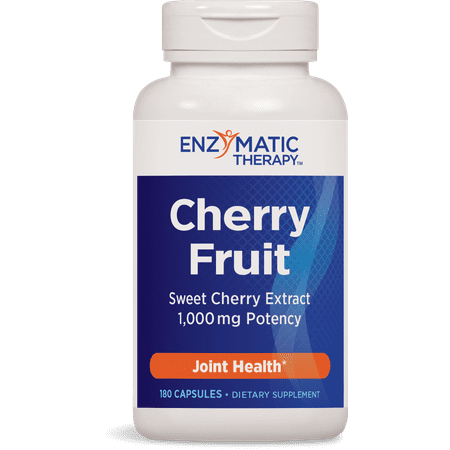 Joint Therapy - Enzymatic Therapy Cherry Fruit Capsules, 180 Ct