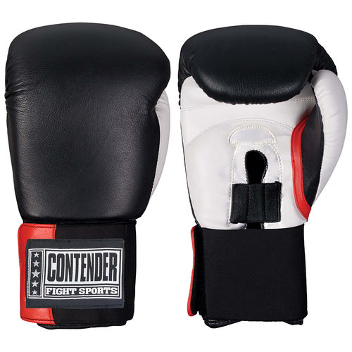 Contender Fight Sports Boxing Training Gloves Black by Ringside