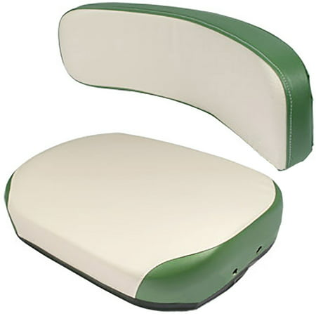 New Oliver White Tractor Steel Seat ()