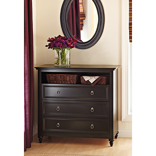 Better Homes and Gardens Bailey Lane 3-Drawer TV Stand/ Media Dresser