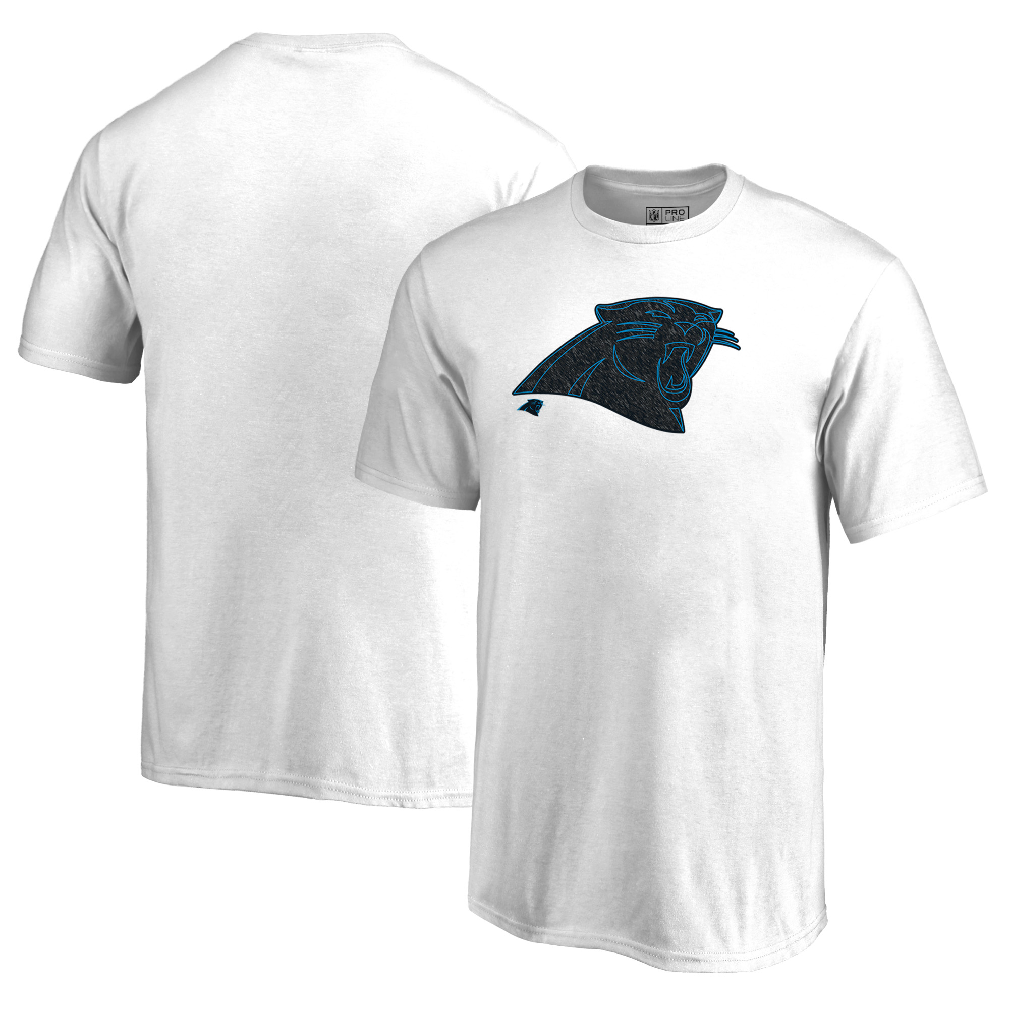 Carolina Panthers NFL Pro Line by Fanatics Branded Youth Training Camp Hookup T-Shirt - White