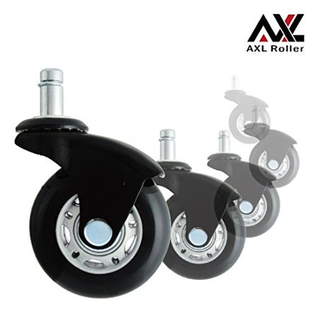 axl office chair caster wheels replacement heavy duty with