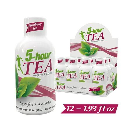 5-hour Tea Raspberry flavor, 1.93 fl oz, 12