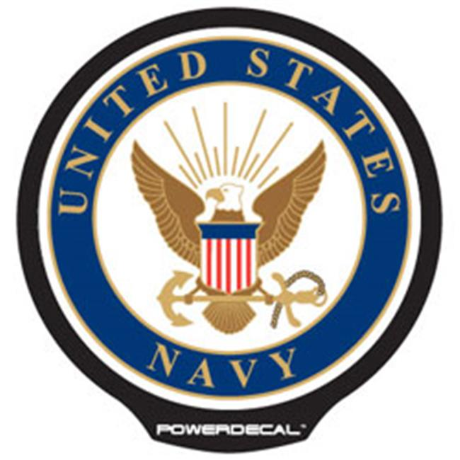 AXIZ GROUP MILPWR003 LED Light-Up Decal U.s. Navy