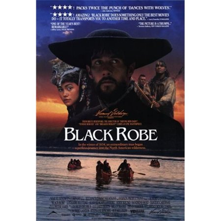 Posterazzi MOVIF8423 Black Robe Movie Poster - 27 x 40 in. - image 1 of 1