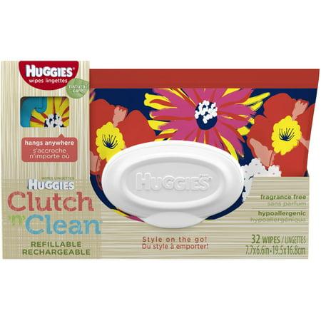 Huggies Natural Care Baby Wipes Clutch N Clean