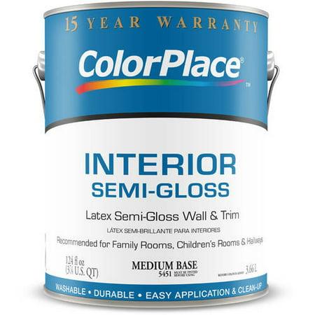 Colorplace Interior Semi Gloss Medium Base Paint 1 Gal