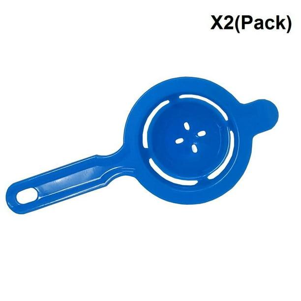 Hunputa 5-Pack Tool Yolk White Separator-Egg Divider Strainer Screen Filter-Chef Kitchen Gadgets-Dishwasher
