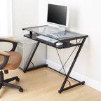 Office Star Designs Horizon Computer Desk Black Textured