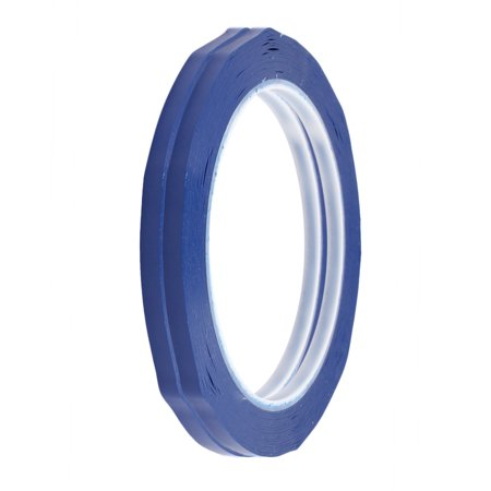 5mm x 66m Single Sided Adhesive Easy-clear Marking Warning Tape Blue 2Pcs - image 2 de 2